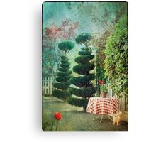 Topiary Trees Canvas Print