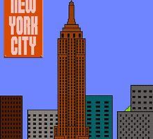 Super New York City by Baardei