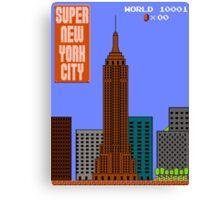 Super New York City Canvas Print
