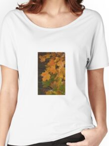 Fall Leaves iPhone case Women's Relaxed Fit T-Shirt