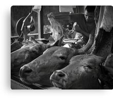 The real butcher Canvas Print