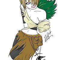 Erin, Forest Adventurer with Eye of Horus by xpikch3rxframex