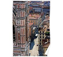 Florence from the Duomo Poster