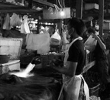 In the Abattoir by Gwoeii