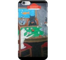 Cats Playing Go Fish iPhone Case/Skin