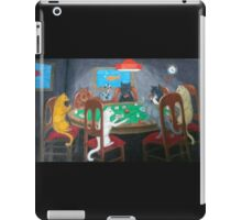 Cats Playing Go Fish iPad Case/Skin