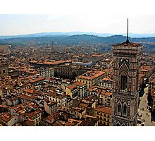 Florence from the Duomo Photographic Print