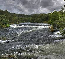 The River Leven In September by VoluntaryRanger