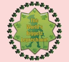 The Worlds Biggest Leprechaun .. Tee Shirt One Piece - Long Sleeve