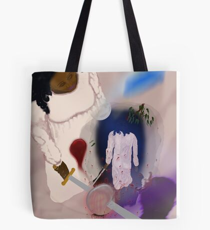 Night Walker  Though she does not Know the Seed of Early Cruelty was Slain Tote Bag