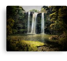 Tikipunga Falls, Whangarei, New Zealand. Canvas Print