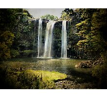 Tikipunga Falls, Whangarei, New Zealand. Photographic Print