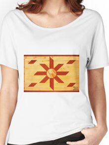 Religous Coffee Table Landscape Women's Relaxed Fit T-Shirt