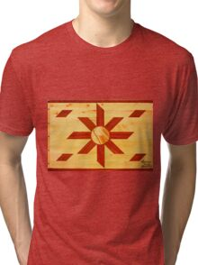 Religous Coffee Table Landscape Tri-blend T-Shirt