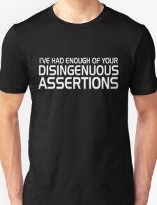 Disingenuous Assertions 2 Unisex T-Shirt
