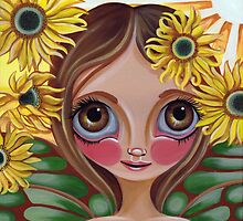 """Sunflower Fairy"" by Jaz Higgins"