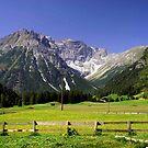 Rural Austrian Tyrol by saxonfenken