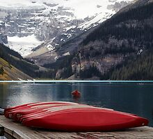 Lake Louise, Banff National Park, Alberta, Canada 2 by Margaret Metcalfe