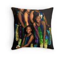 Concert School Girls   Throw Pillow