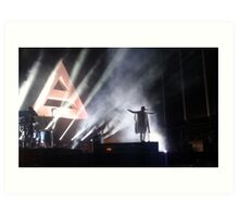 Thirty Seconds to Mars Art Print