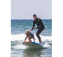 Tandem Surfing Winners! Photographic Print