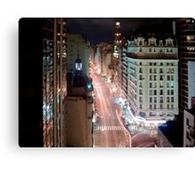 Argentine Night Canvas Print