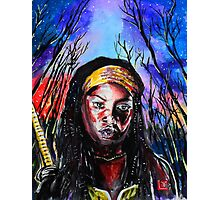 Walking Dead Michonne Photographic Print