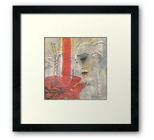 Sybil in New York (oil) Framed Print