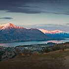 Wanaka and her lake, New Zealand by Neville Jones