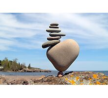 Stack on Balance Photographic Print
