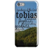 Tobias iPhone Case/Skin