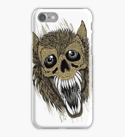 Evil Halloween Werewolf iPhone Case/Skin