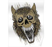 Evil Halloween Werewolf Poster