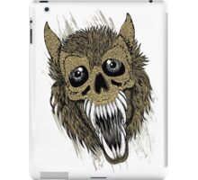 Evil Halloween Werewolf iPad Case/Skin