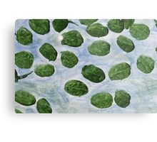 Impression Lilly Pads Metal Print