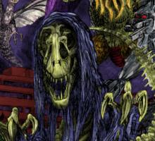 The Grim Raptor Sticker
