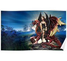 The Dragon Queen Awaits Poster