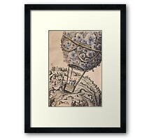 Air-balloon Framed Print