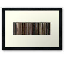 Moviebarcode: Marie Antoinette (2006) Framed Print