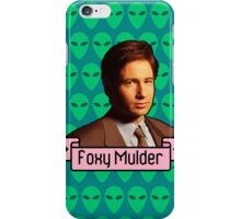 Foxy Mulder iPhone Case/Skin