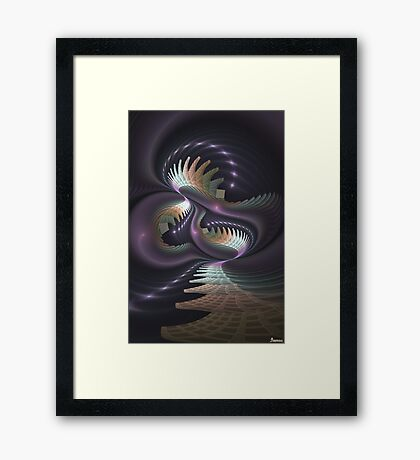 Il Camino Framed Print