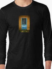 Taos Pueblo Screen Door Long Sleeve T-Shirt
