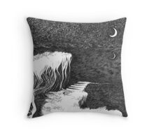 Dark Night Inner Light Throw Pillow