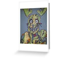 Springtrap Greeting Card