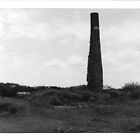 tin plate works smoke tower by MICHAEL GAY