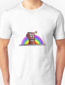 Psycho Gay... Hungry... Building... Unisex T-Shirt
