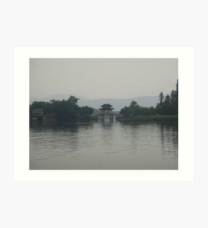Shang Hai Famous Garden - China Art Print