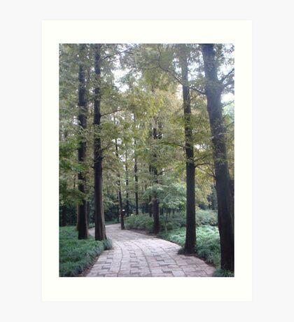 Shang Hai Famous Garden #2 - China Art Print