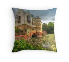 The Moat Throw Pillow