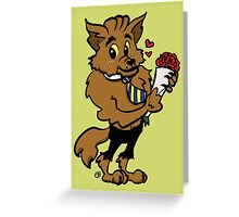 Werewolf Blind Date Greeting Card